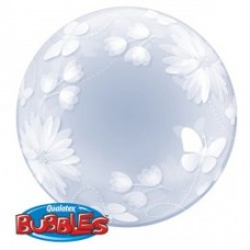 Butterflies and Flowers Bubble