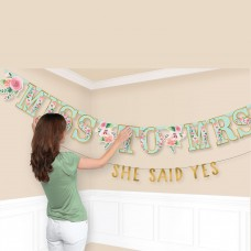 LETTER BANNER KIT MINT TO BE