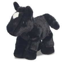Mini Flopsie - Beau Black Horse 8In