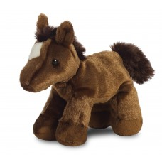 Mini Flopsie - Chestnut Horse 8In