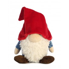 Gnome W/Red Hat&Blue Shirt 11In