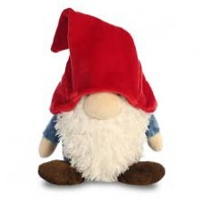Gnome W/Red Hat&Blue Shirt 16In