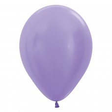 BALL:12in Satin Lilac 50pk