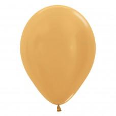 BALL:12in Met Gold R 50pk