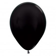BALL:12in Met Black 50pk