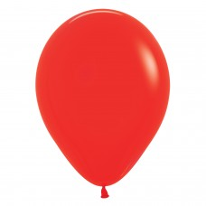 BALL:12in Fash Red 25pk