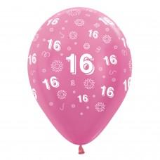 BALL:16th FLWRS PINK MIX