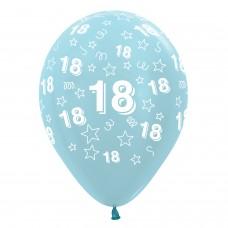 BALL:18th STARS BLUE MIX