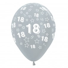 BALL:18th STARS FUCHS/BLK/SLVR