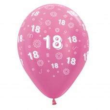 BALL:18th FLWRS PINKMIX