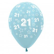 BALL:21st STARS BLUE MIX