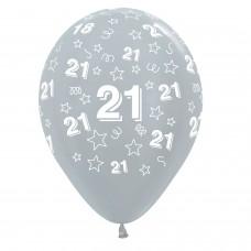 BALL:21dt STARS GLD/BLK/SLVR