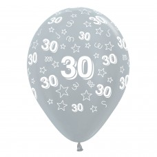 BALL:30th STARS FUCHS/BLK/SLVR