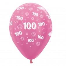 BALL:100th FLWRS PINK MIX