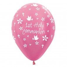 BALL:COMMUNION PINK 25pk 11