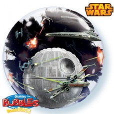 24 INCH DOUBLE BUBBLE DEATH STAR