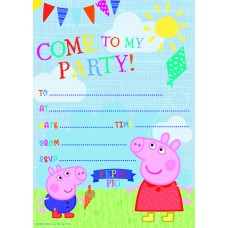 Peppa Invitations