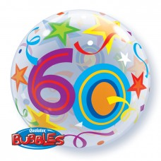 "22"""" SINGLE BUBBLE 60 BR STARS"