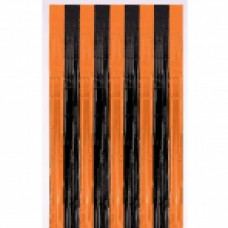 DOOR CURTAIN met:black/orange