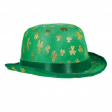 ST PATS GOLD SHAMROCK DERBY HAT