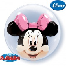 24 inchDOUBLE BUBBLE MINNIE MOUSE