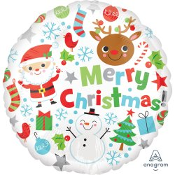 18 Inch Merry Christmas Icons