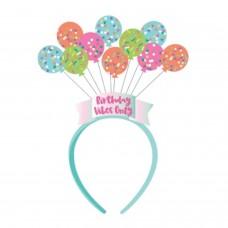 Birthday Balloons Headbopper