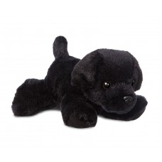 Mini Flopsie - Blackie Black Labrador 8In