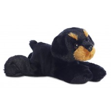 Mini Flopsie - Raina Rottweiler 8In