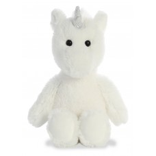 Cuddly Friends Unicorn White 12In