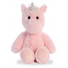 Cuddly Friends Unicorn Pink 12In