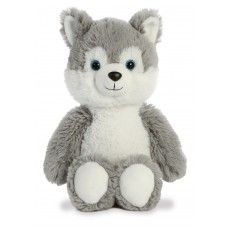 Cuddly Friends Husky Dog 12In