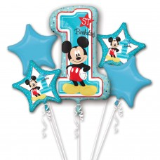 Bouquet:Mickey 1st Birthday