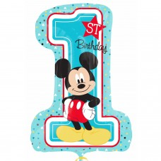 S/Shape:Mickey 1st Birthday