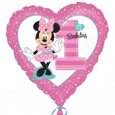 SD-H:Minnie 1st Birthday (Non Message)