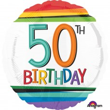SD-C:Rainbow Birthday 50