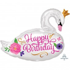 S/Shape: HBD Beautiful Swan