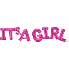 Phrase: IT'S A Girl Pink