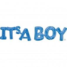 Phrase: IT'S A Boy Blue