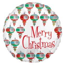 Retro Christmas 18 Inch Foil