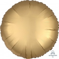 SD-C:Satin Gold Sateen Circle