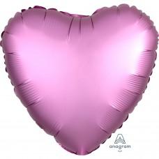 SD-H:Satin  Flamingo Heart