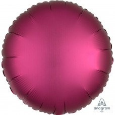 SD-C:Satin  Pomegranate Circle