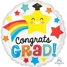 SD-C:Congrats Grad Happy Star