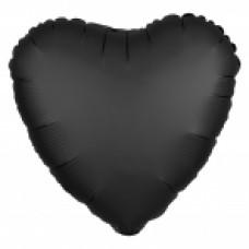 SD-H: Satin Onyx Heart