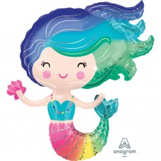 S/Shape: Colorful Mermaid