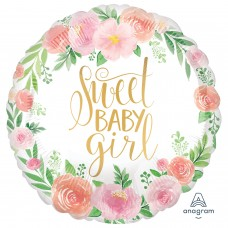 SD-C: Floral Baby Girl