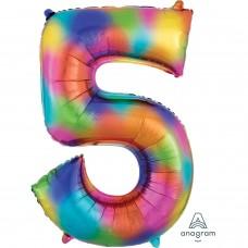 S/SHAPE: 5 Rainbow Splash