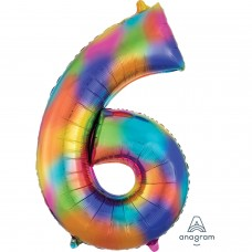 S/SHAPE: 6 Rainbow Splash