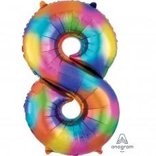 S/SHAPE: 8 Rainbow Splash